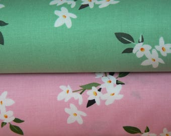 Lily of the Valley Cotton Fabric by Michael Miller - 1 Yard