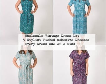 Wholesale Clothing - Custom Vintage Dress - Boutique Dress - Maxi Dress - Midi Dress - Floral Dress - Plus Size Dress - Custom Boho Dress
