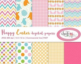 65%OFF SALE Easter digital paper, Easter scrapbook paper, Easter backgrounds, Easter patterns, Easter scrapbooking, P357