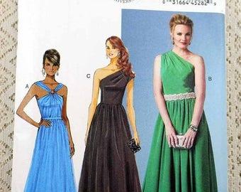 ON SALE Butterick 5987, Misses' Dress Sewing Pattern, Easy Dress Pattern, Misses' Patterns, Misses' Size 16 to 24, Uncut