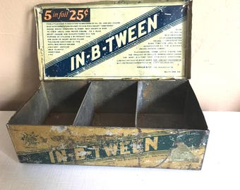 Old Metal Cigar Box