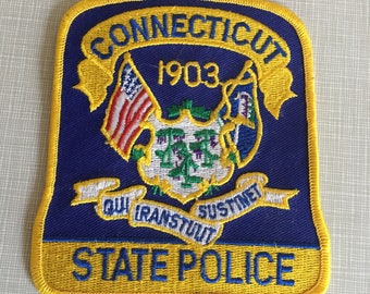 Connecticut police Patch