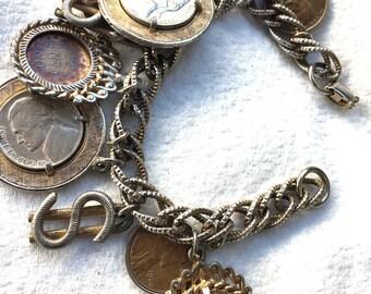 1950's Coin Bracelet