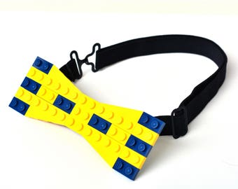 Bow tie made with LEGO® bricks FREE SHIPPING gentleman fashion birthday anniversary gift idea