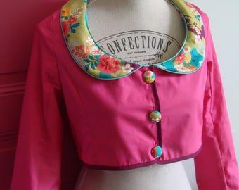 Customizable CLAUDINE collar CAMISOLE