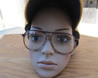 Vintage 80s Aviator Mens Eye Glasses