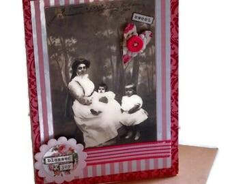 Vintage Style Greeting Card