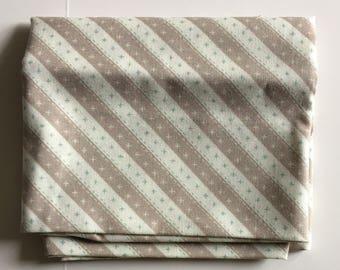 Cosmo Cricket Moda Striped Fabric FAT QUARTER