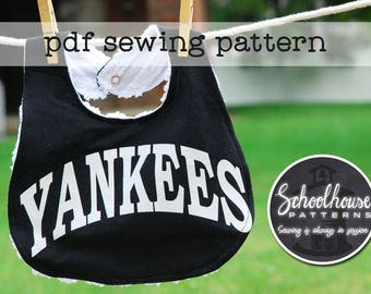 T-shirt to Bib sewing pattern - great gifts -  PDF INSTANT DOWNLOAD