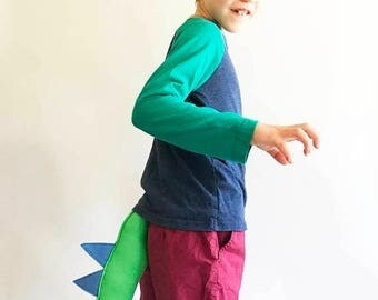 EARLYBIRD SALE Dinosaur Tail, Dragon Tail for dress up, birthday party favors, plays, costume, cosplay