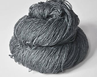 Set in stone - Tussah Silk Fingering Yarn