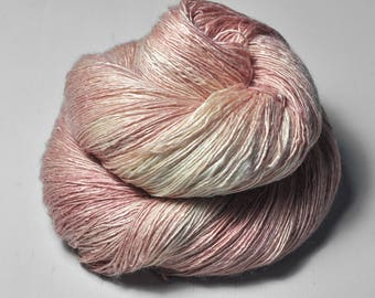 Naughty piglet - Tussah Silk Lace Yarn
