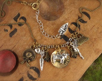 Anne Inspired Call Me Cordelia Charm Necklace