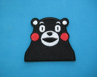 Iron-on Embroidered Patch Kumamon 2.25 inch