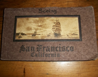 Booklet of Post Cards San Francisco CA--1915