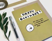 Happy Birthday! Wait...You Are How Old?!, Funny Birthday Card, My Face When I Found Out How Old You Are, Humor Card