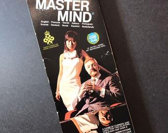 Vintage Mastermind Board Game Complete 1978 Invicta Master Mind Logic Game