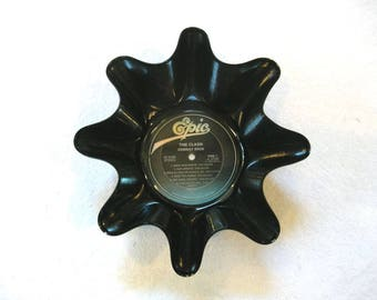 The Clash Record Bowl Made From Vinyl Album