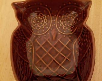 Vintage Owl Bowl