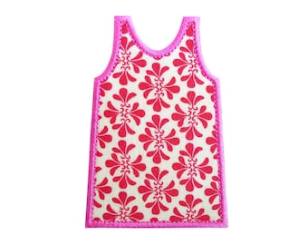 """Shift Dress Lilly Pulitzer Machine Embroidery Design Applique Pattern in 5 sizes 3"""", 4"""", 5"""", 6"""", 7"""""""