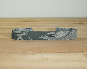 ABU Air Force Child Headband Military Digital Tiger Stripe Camo