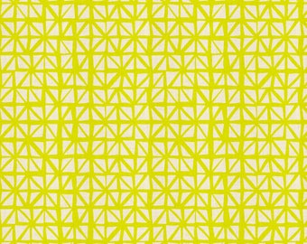 Shattered in Citron from the lil monsters collection by Cotton and Steel-  5132-01