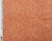 Rosette tiny flower orange Juliana Horner Fabric Traditions  FQ or more