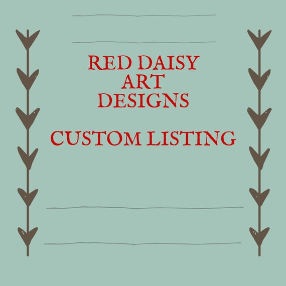 Custom Wallet Listing for Julie