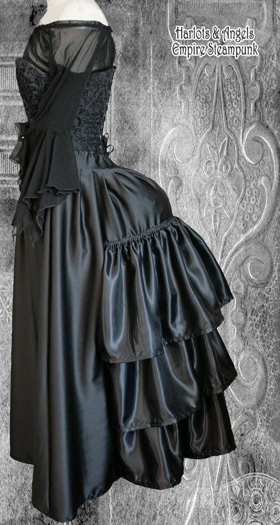 Victorian Bustle Skirt Pattern 44