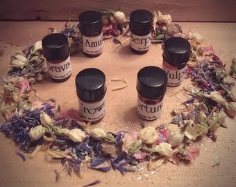 Half Sized Set of New Ritual Fragrance Oils