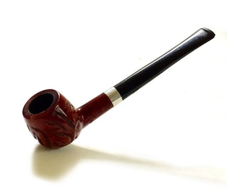 Estate Pipe Dr Grabow Royal Duke Rustic imported Briar Tobacco Smoking Pipe Blue Spade 50s