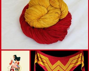 Wonder Woman Shawl Kit