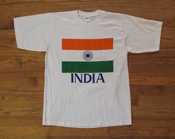 vintage India souvenir t shirt