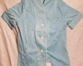Vintage yolande oriental shirt and bottoms