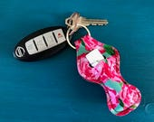 Lilly Inspired Chapstick Holders, Chapstick Keychain, Personalized Chapstick Holder