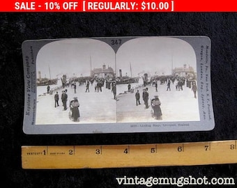 Vintage  Stereoscopic Stereoview Stereo Card Photos LIVERPOOL England