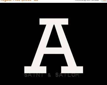 FLASH SALE til MIDNIGHT Letter A in 4 color choices, Monogramed Photo Print or Canvas kids Wall art