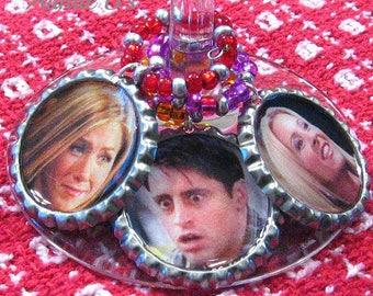 Friends - Bottle Cap Drink Charms Set of 6