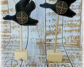 Duck Target BuggaSign Embroidery Design