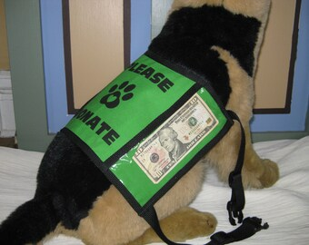 Dog Donation Vest - Medium