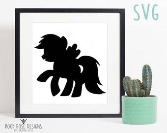 My Little Pony Rainbow Dash - SVG CUT FILE