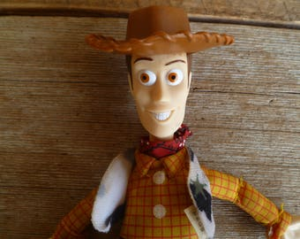 Toy Story Woody Doll Burger King Vintage