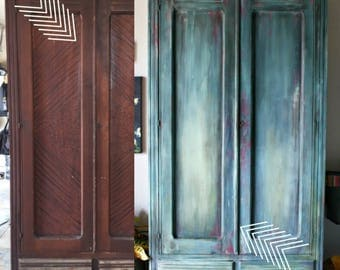 DIY Tutorial - How To Create a Blended and Layered Paint Finish