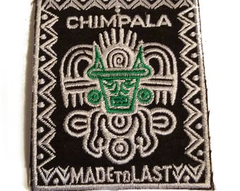 Free Shipping! Chimpala Made to Last Patch Clean