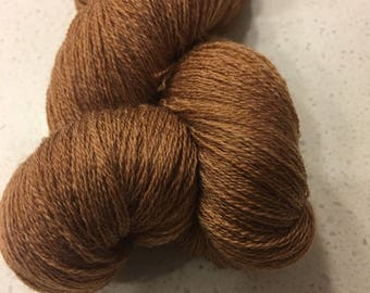 Brown Extra Fine 100% Merino Wool Yarn