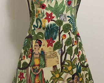 Frida's inspired fabric Women's  Apron