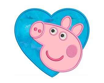PEPPA PIG 1 HEART