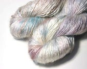 REI Tussah Silk Mohair in Mother of Pearl - One of a Kind