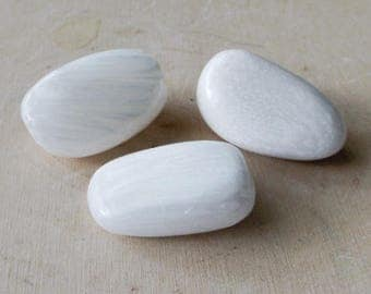 Scolectite - tumbled crystal, high vibration, crystal healing