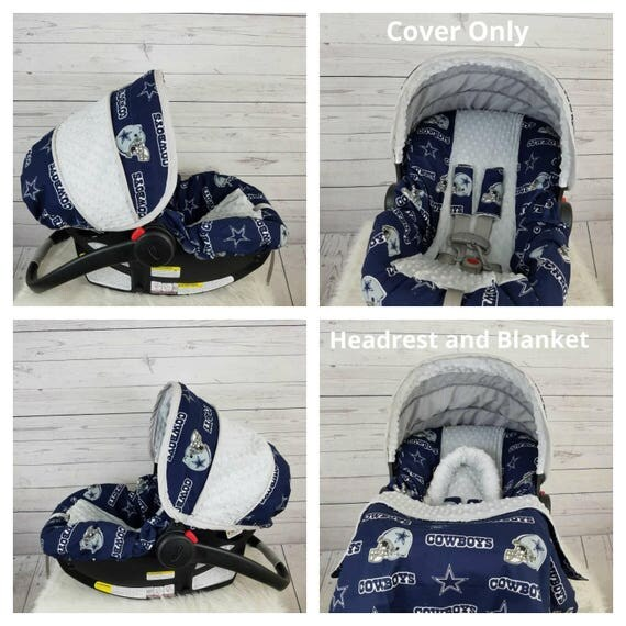 Baby Boy Infant Car Seat Cover Dallas Cowboys Car Seat